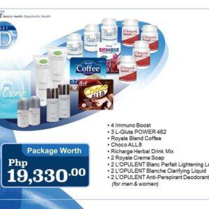 Set D | Royale Universal Package | Royale Cainta Satellite Center