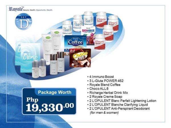 Set D   Royale Universal Package   Royale Cainta Satellite Center